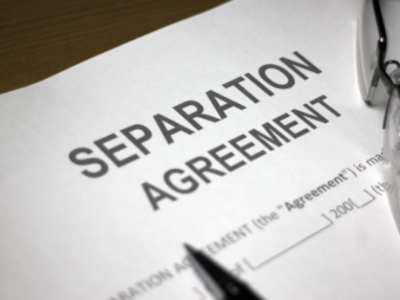 Things to know about separation agreement
