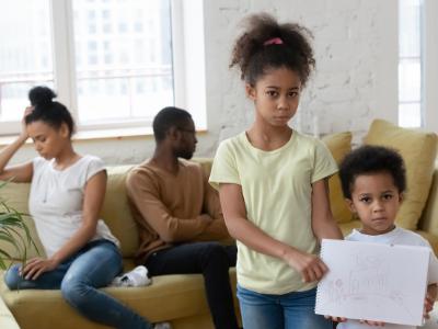 Mistakes parent should avoid during a divorce